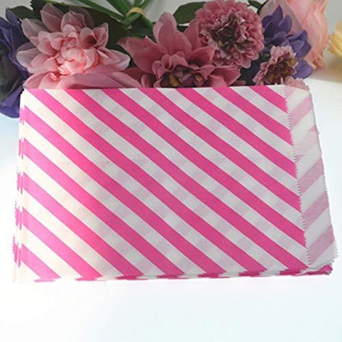 SMHILY 25 Teile/SatzTwillÖlbeständiges Papier PralinenschachtelGeschenkbeutel Lebensmittel PapiertüteHochzeit Geburtstag Liefert Süßigkeiten Papier (Machen Halloween-lebensmittel Leicht)