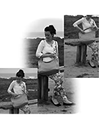 Olivia - Grand Sac à main femme cuir DORCIA PL1149 40/47 x 30 cm