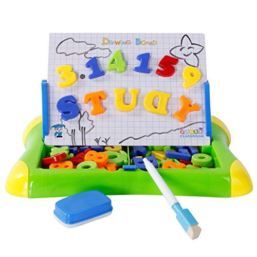 tonor-drawing-board-with-magnetic-letters-and-numbers-educational-toys-2-in-1-learning-case