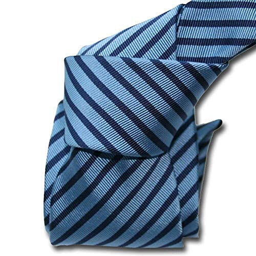Segni et Disegni - Cravate Classique Segni Disegni, Mogador, Brescia, Deux Bleus