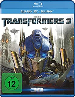 Transformers 3 - Dark of the moon (+ Blu-ray 3D) [Blu-ray]