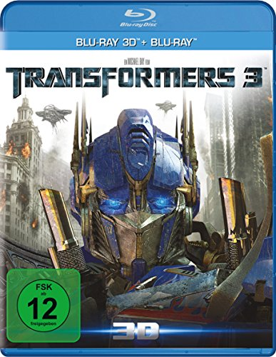 Bild von Transformers 3 - Dark of the moon (+ Blu-ray 3D) [Blu-ray]