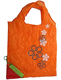 Set Of 5 | Eco-Friendly, Lightweight And Convenient | Strawberry Folding Bags By DAISYLIFE