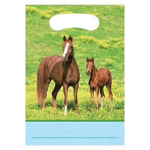 Creative Converting Wilde Pferde, 8Zählen Party Favor Geschenktüten