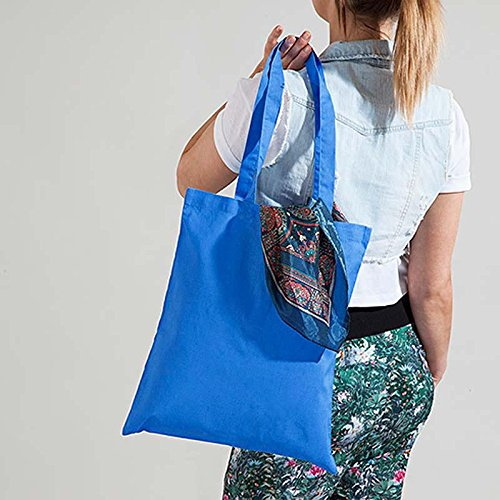 Westford Mill Sac en coton Bleu - Cornflower Blue