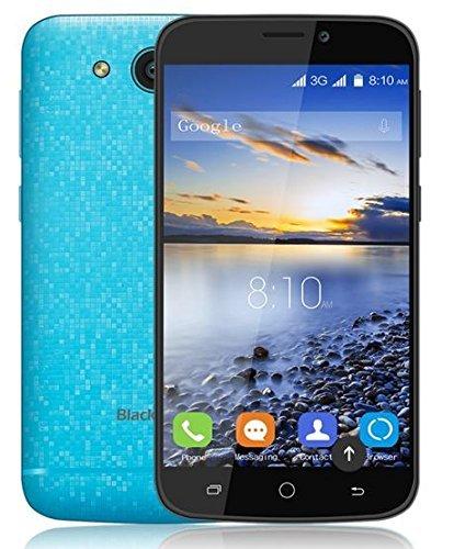 Blackview A5 3G Android 6.0 MT6580 Quad-core 1.3GHz 4,5 Pouces 480 * 854 Pixels RAM 1Go ROM 8Go Caméra Frontale 2MP + Caméra Arrière 5MP 2000mAh SD Carte GSM / WCDMA Gesture Débloqué Wifi Bluetooth GPS FM (Bleu)
