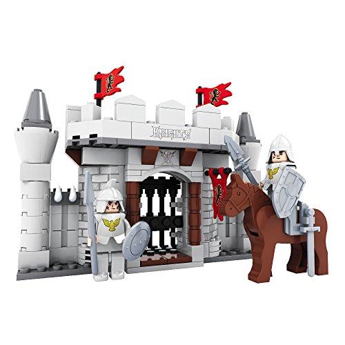 Ausini - Juego de construcción Castillo guerrero - 174 piezas (ColorBaby 44342)
