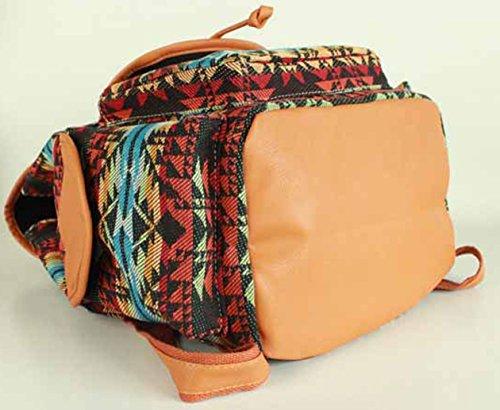 Keshi Neu Faschion Rucksäcke Damen Mädchen Schüler Lässige Canvas Rucksack Vintage Backpack Daypack Schulranzen Schulrucksack Wanderrucksack Schultasche Rucksack für Freizeit Outdoor Sport Leinwand Braun