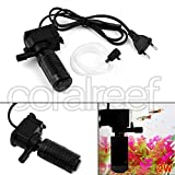 #3: Submersible Aquarium Internal Filter 3 In1 Aquarium Water Pump Filter Air Oxygen Circulation for Turtle Fish Tank