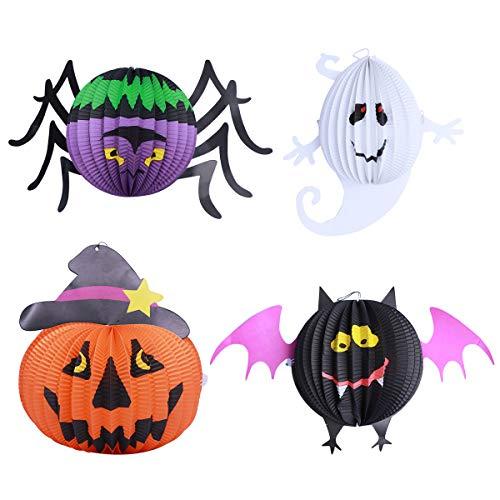 15 Globos Calabaza Calavera Bruja Telaraña Halloween Fiesta Spooky Decoración