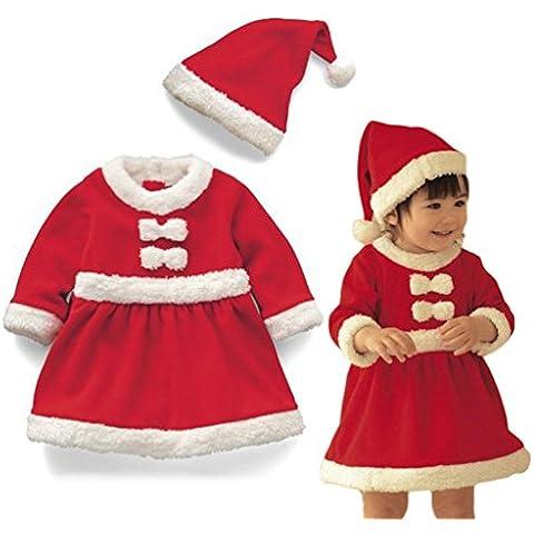 Vine Bebé Niño de Navidad Ropa de Santa Claus De Bebé Ropa + sombrero