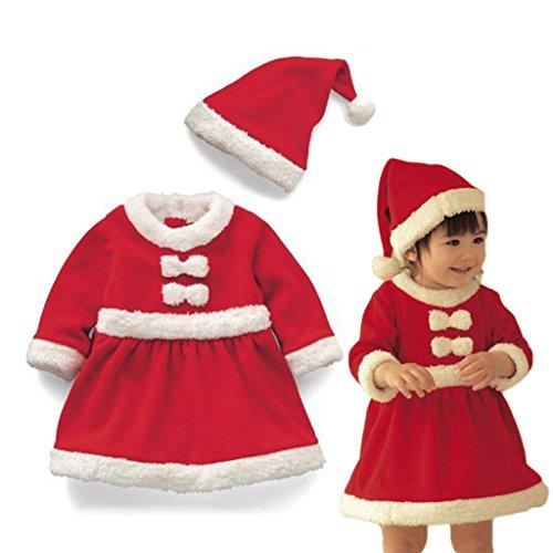 Vine Baby Mädchen Weihnachten Zweiteiler Anzug Weihnachten Outfit -