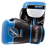 Hayabusa Sport 16oz Training Gloves - Boxing Sparring (Blue)