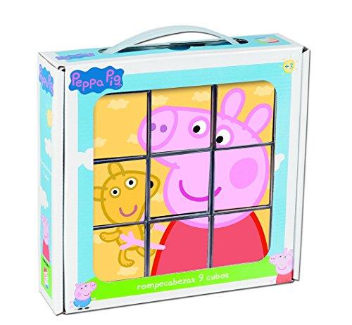 Imagen principal de Cefa Toys Peppa Pig - Rompecabezas, 9 cubos 88233