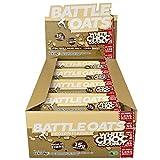 Battle Oats Gluten-freie Protein Riegel - 12 x 70g Riegel - Weisse Kokos Schokolade Geschmack