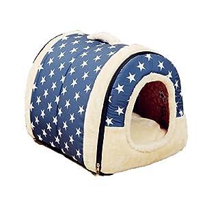 Confortable Doux Animal de compagnie Chenil Lit pour chien Maison