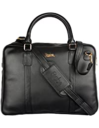 Reba Fashions High Quality PU Leather Women Messenger Handbag Brown Color Ladies Laptop Bag By REBA (Available...