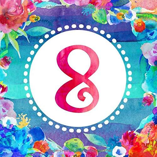 Mädchen Gästebuch, Boho Gäste Geburtstagsbuch zum Eintragen - Blanko Erinnerungsalbum mit Dekor Interior - Geburtstagswünsche Party Dekoration Buch Blau Pink Bunt ()