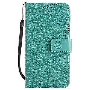 DENDICO Galaxy A3 2016 Hülle, PU Leder Handyhülle, Flip Brieftasche Wallet Tasche Etui TPU Schutzhülle für Samsung Galaxy A3 2016