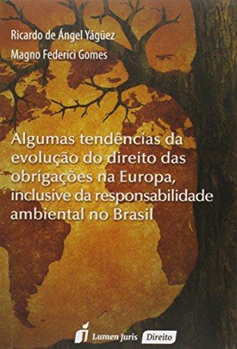 Portada del libro Algumas Tendências da Evolução do Direito das Obrigações na Europa