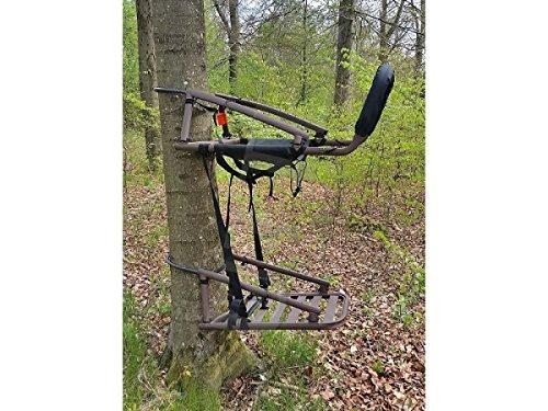 SUTTER® Siège Auto-grimpant transportable & Chaise d'affût Pratique - Affut surélevé pour Arbre, Alternative à la cabane d'affut