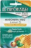 Geomar - Maschera Viso, Nutriente, Vellutante