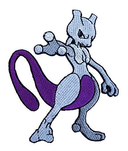 Flareon Pokemon-Aufnäher, bestickt, zum Aufbügeln, für Fancy-Kleid oder Cosplay-Kostüm