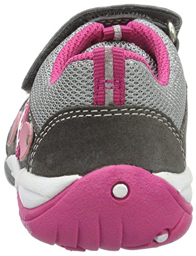 Superfit Sport3, Sneakers basses fille Grau (stone Kombi)