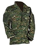 US Feldjacke M65 Feldparka ACU All Digital Combat Uniform Wind- und Nässeschutz Herbstjacke in verschiedenen Farben S-3XL (M, Digital Woodland Tarn)