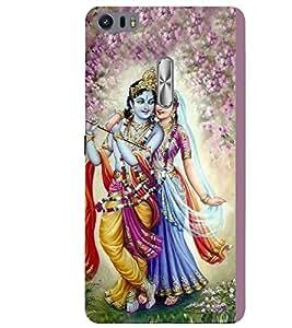 Lord Krishna 3D Hard Polycarbonate Designer Back Case Cover for Asus Zenfone 3 Ultra ZU680KL