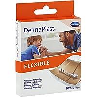 DERMAPLAST FLEXIBLE Wundpflaster 8x10 cm 10 Stück preisvergleich bei billige-tabletten.eu