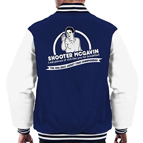 Happy Gilmore Shooter McGavin Breakfast Quote Men's Varsity Jacket