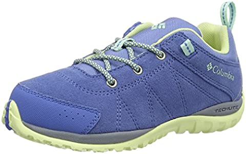 Columbia Youth Venture, Chaussures Multisport Outdoor Fille, Bleu (Medieval/ Sea Ice), 37 EU