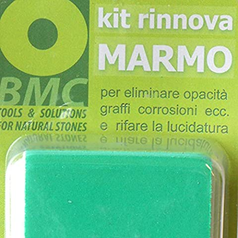 MARBLE RESTORE kit to remove haze, scratches,