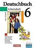 Deutschbuch Gymnasium - Allgemeine bisherige Ausgabe: Deutschbuch 6 - Arbeitsheft mit CD-ROM - Neue Ausgabe - Arbeitstechniken, Texte schreiben, ... Grammatik, Lesetrainng, Lernstand testen
