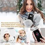 VEIERSIA-Scaldamani-Portatile-Ricaricabile-Power-Bank-con-USB-6000-mAh-Riscaldamento-a-Doppio-Lato-Regalo-di-San-Valentino-Natale