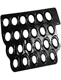 C2K Plastic Ring Sizer Construction Finger Gauge Ring Measurement Jewelry Tool Black