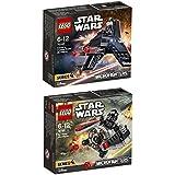 LEGO STAR WARS Juego de 2 75161 75163 TIE Striker MICROFIGHTER + Y-WING Microfighter