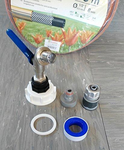'cms60133mk992146swgl1/30 Robinet à boisseau sphérique S60 x 6 + prise avec + 1/2 \