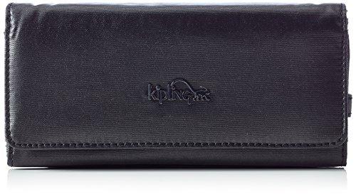 Kipling - BROWNIE, Portafogli Donna Nero (37R Metallic Blck)