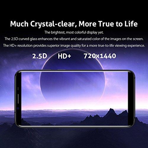 Smartphone Libre  HOMTOM S8 4G M  viles de 5 7   HD IPS Android 7 0  Dual C  mara 21MP   16MP 4GB RAM 64GM ROM Con 3400mAh Bater  a MTK6750T 1 5Ghz Qu