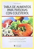 Tabla de alimentos para personas con colesterol (Tablas de alimentos)