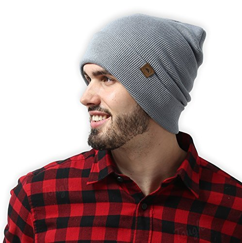 Cuff Beanie Watch Cap by Tough Headwear - Warm, Stretchy & Soft Knit Hats for Men & Women - Year Round Comfort - Serious Beanies for Serious Style
