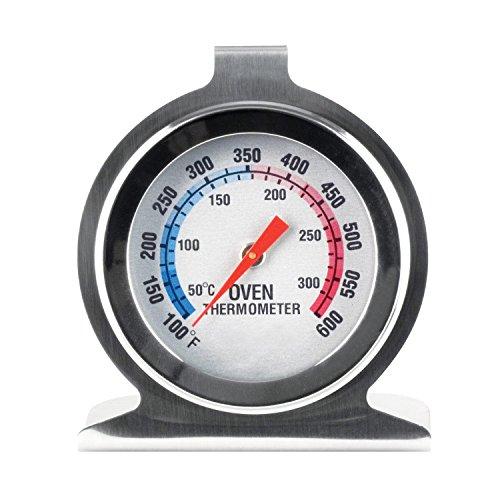 SPICE - Termómetro sonda Acero Inoxidable indicador de Temperatura Horno Lee inmediatamente
