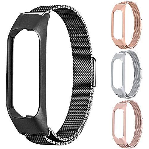 Preisvergleich Produktbild Duk3ichton Uhrenarmband Edelstahl Ersatzarmband Uhrenarmband Für Samsung Galaxy Fit-e R375 Golden