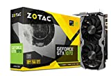 ZOTAC GeForce GTX 1070 Mini Grafikkarte (NVIDIA GTX 1070, 8GB GDDR5, 256bit, Base-Takt 1518 MHz, Boost-Takt 1708 MHz, 8 GHz)