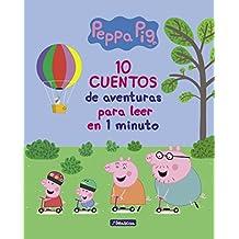 10 cuentos de aventuras para leer en 1 minuto (Peppa Pig. Primeras lecturas)