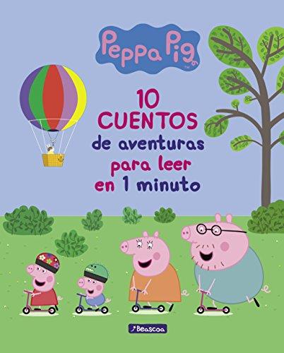 10 cuentos de aventuras para leer en 1 minuto (Peppa Pig. Primeras lecturas) por Varios autores