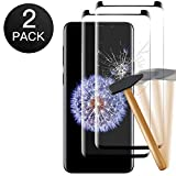 Zomo [2 Pack ] Verre Trempé Samsung Galaxy S8, Film Protection Ecran Verre Trempé - [Facile à Installer] [3D-Touch/Dureté 9H] [sans Bulles d'air] - Glass Screen Protector pour Samsung Galaxy S8