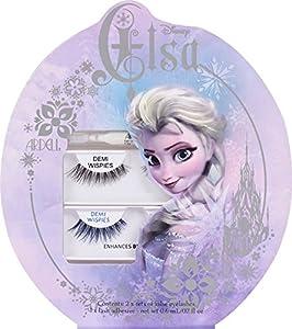 Ardell Disney Elsa Collection False Eyelash Set (Black Demi-Wispies and Blue)